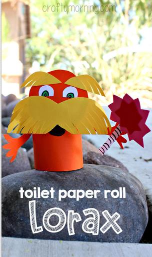 lorax toilet paper roll