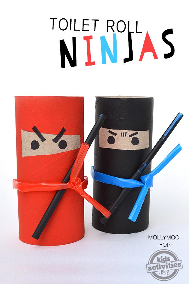 nina paper roll craft