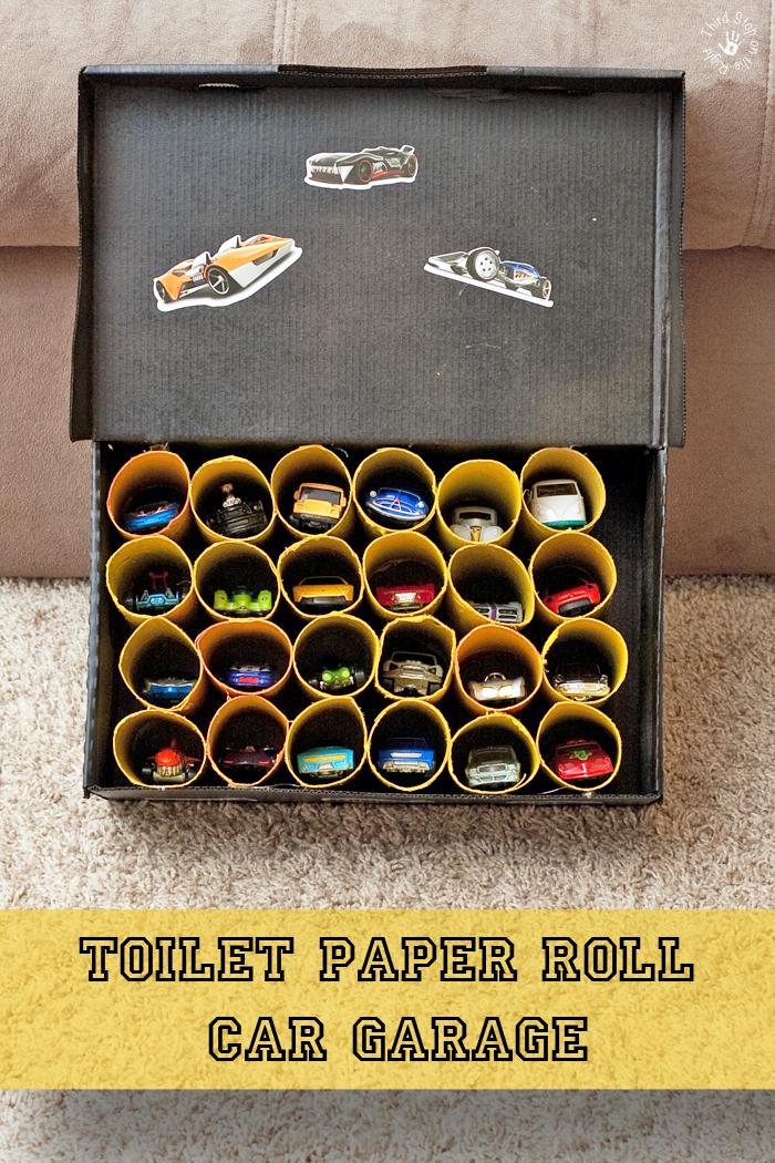 paper roll garage