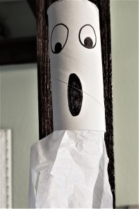 paper roll ghost