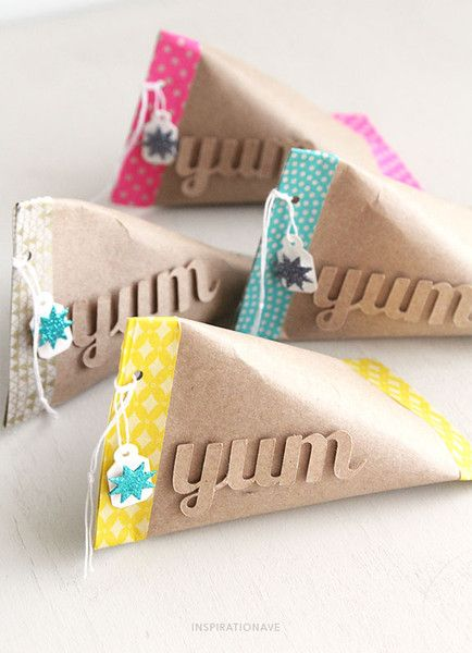 paper roll gift packages