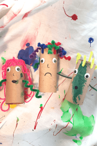 paper roll people