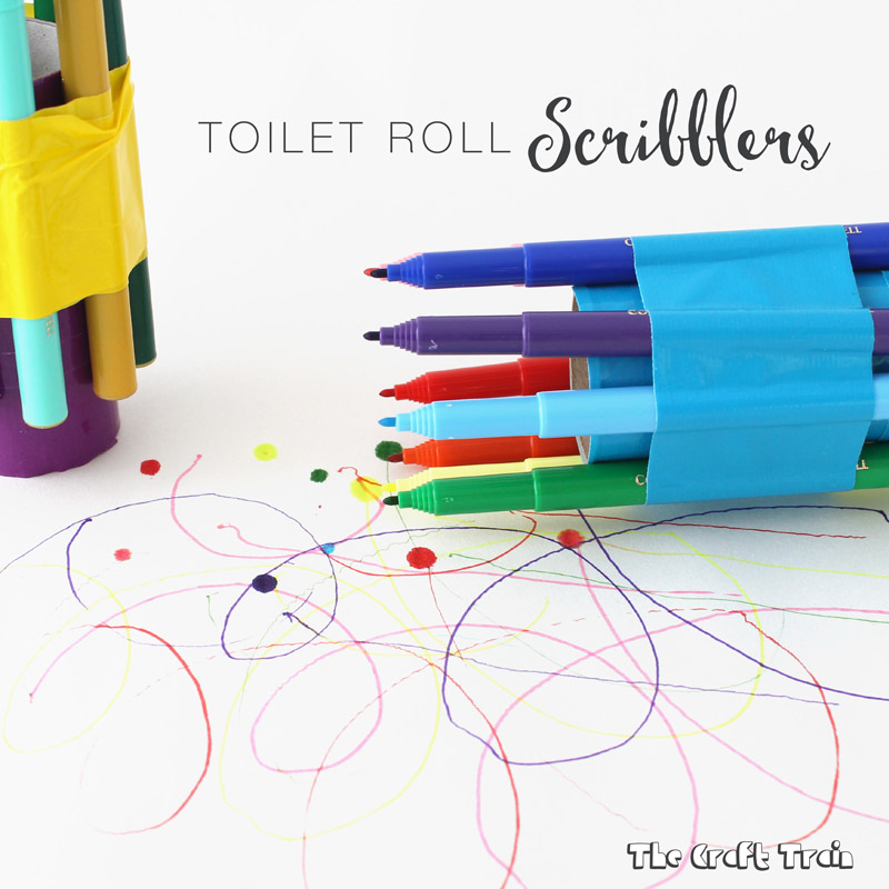 toilet paper scribblers craft