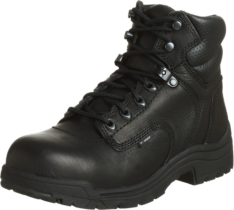 "Timberland PRO Women's 72399 Titan 6"" Safety-Toe Boot"