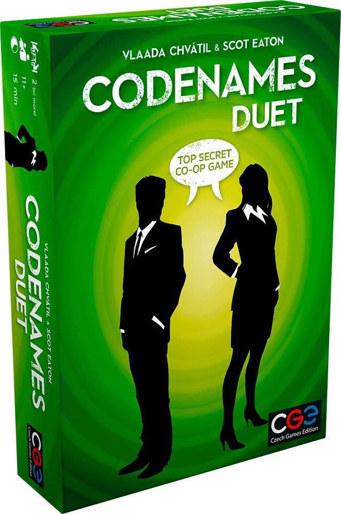 Codenames: Duet - The Two-Player Word Deduction Game