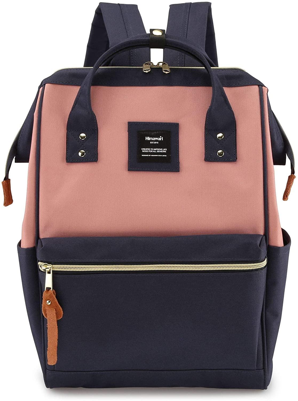 Himawari Laptop Backpack Travel Backpack With USB Charging Port Large Diaper Bag Doctor Bag School Backpack for Women