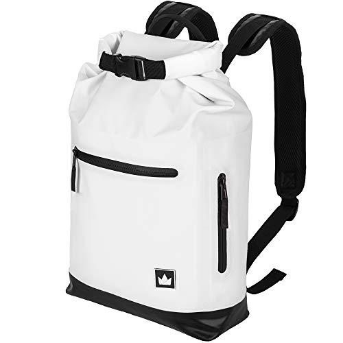 """The Friendly Swede Waterproof Dry Bag Backpack 13"""" Laptop - Roll Top GRANEBERG"""