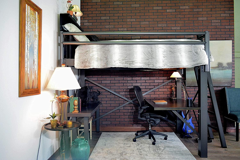 Francis Lofts & Bunks Queen Size Adult Loft Bed