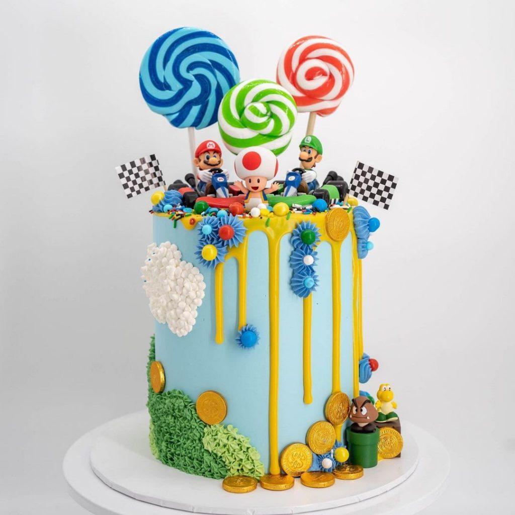 Ninendo Mario Cake