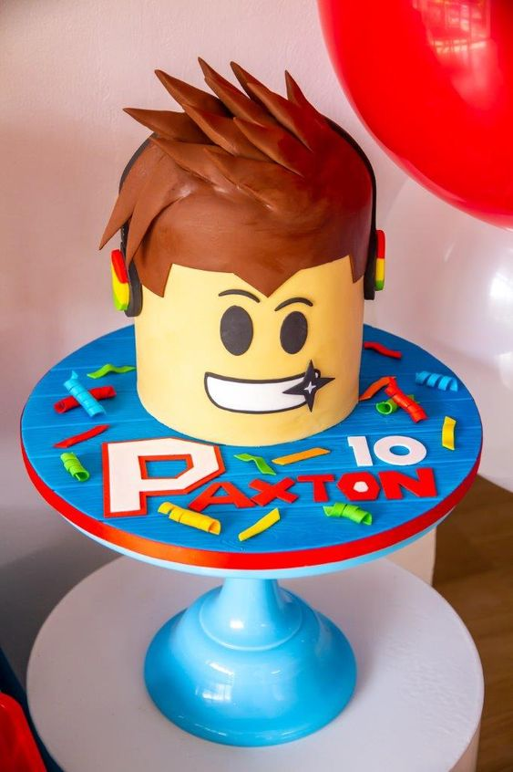 Roblox Cake for Boys