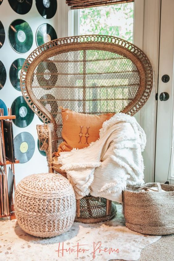 10 Fabulous Peacock Chairs That Scream Boho Chic