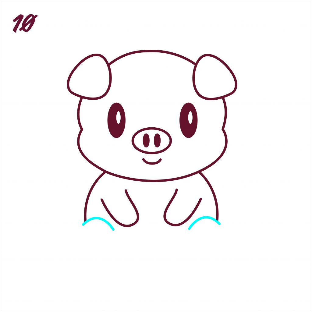 How to Draw a Pig: Easy Step-by-Step Pig Drawing [With Video]