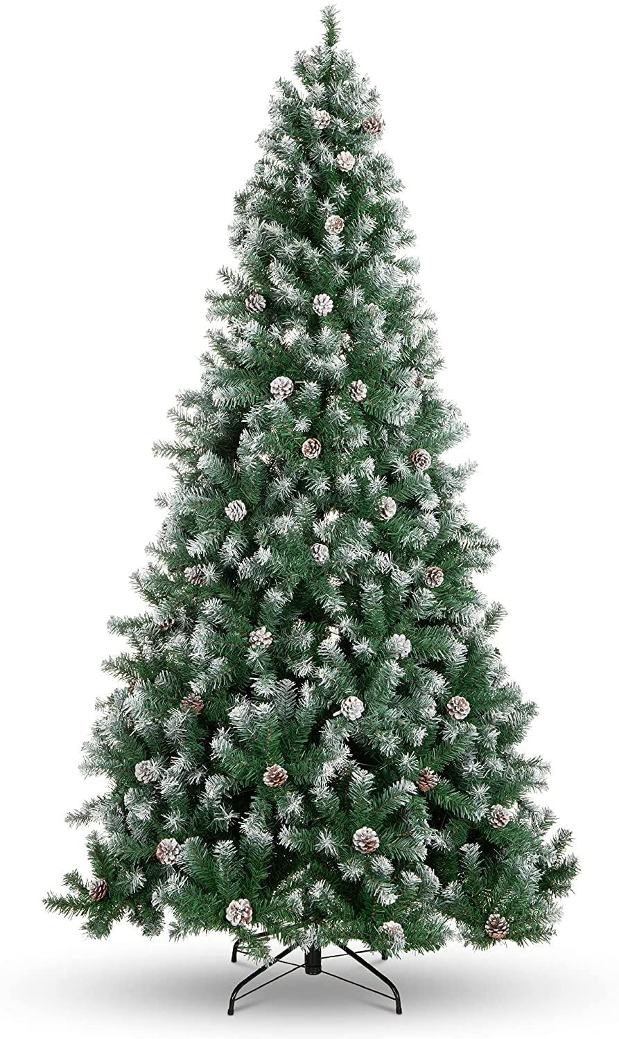 How to Flock a Christmas Tree - And The Best Flocked Christmas Trees on Amazon