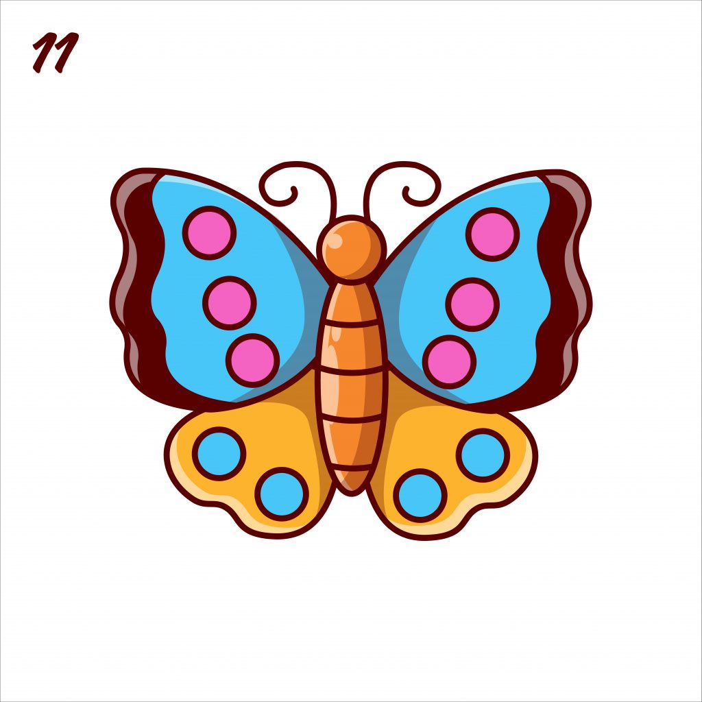 How to Draw a Butterfly: Easy Step-by-Step Butterfly Drawing [With Video]