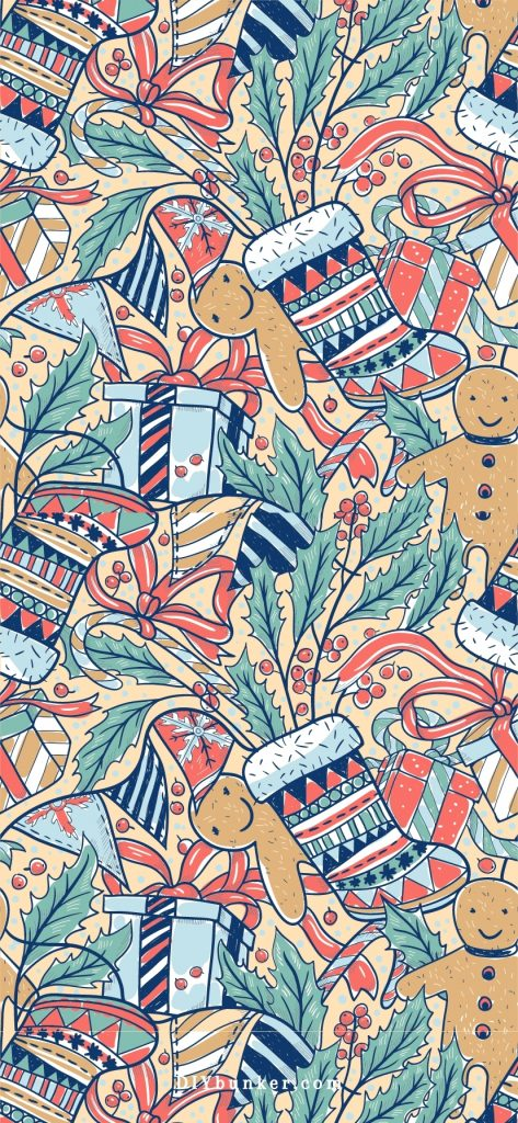 50+ HD Christmas Wallpapers for iPhone - Free Download